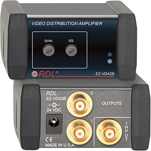 RDL EZ-VDA2B  1x2 Composite Distribution Amplifier (BNC)