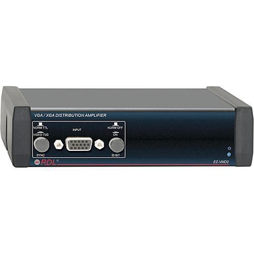 RDL EZ-VMD2  1x2 VGA/XGA Distribution Amplifier