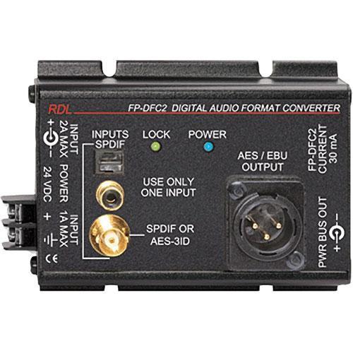 RDL FP-DFC2 - Digital Audio Format Converter