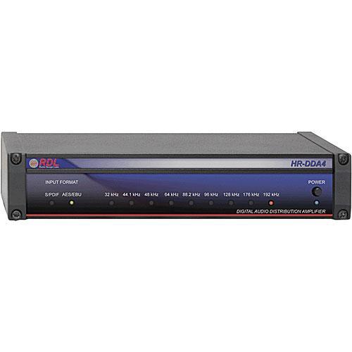 RDL HR-DDA4 Digital Audio Distributor