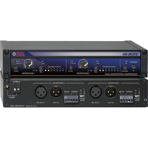 RDL HR-MCP2 - Dual Microphone Compressor