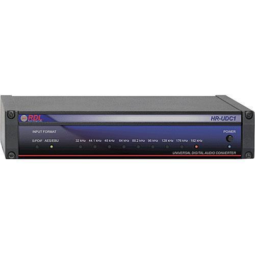 RDL HR-UDC1 - Universal Digital Audio Converter