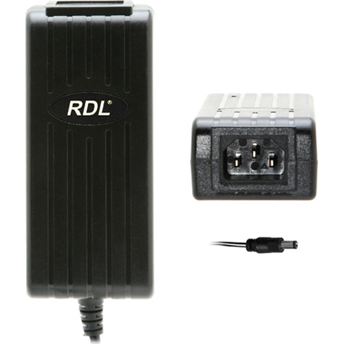 RDL PS-24V2A 24VDC Switching Power Supply with North American Cord