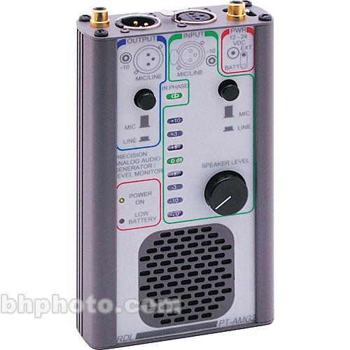 RDL PT-AMG2 - Precision Analog Audio Generator/Level Monitor