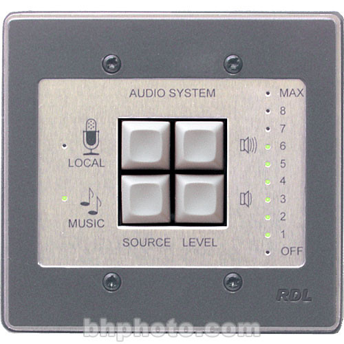 RDL RCX-1 - Room Control for RCX-5C