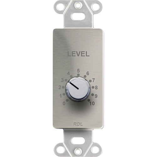 RDL RLC10KS - Wall-Mount Remote Level Control (Stainless Steel)