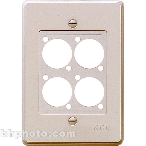 RDL RMS-4N Wall Mount Plate for AMS Series Products (White)