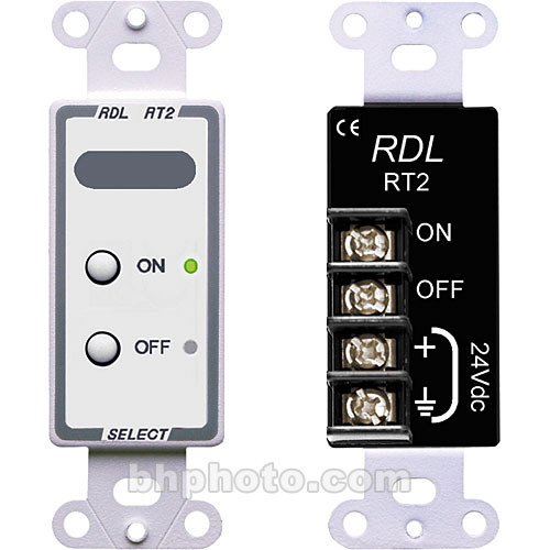 RDL D-RT2 Remote Control Selector (White)