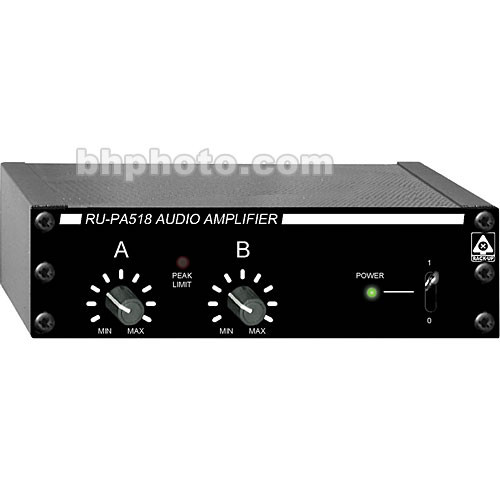 RDL RU-PA518 Audio Power Amplifier with Peak Limiter