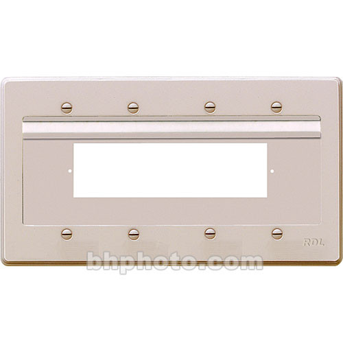 RDL RU-WMP1N Wall-Mount Plate Assembly (White)