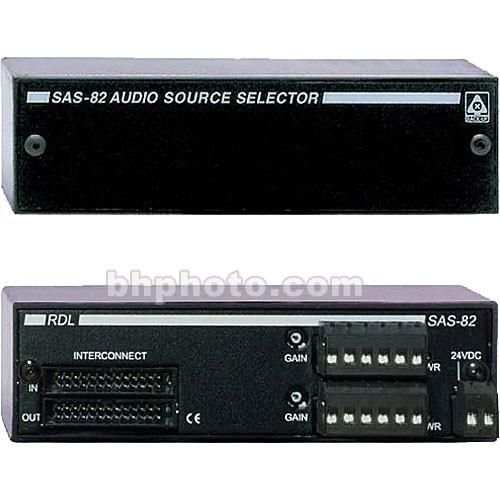 RDL SAS-82 Audio Controller
