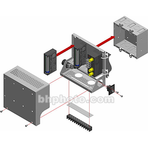 RDL SR-4 Stick-On Series Mounting Rack