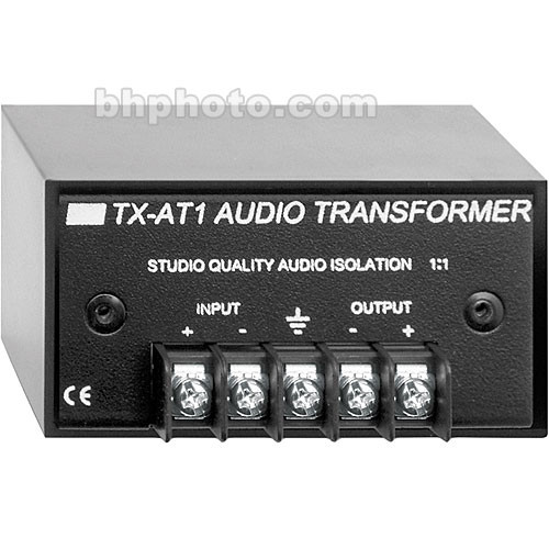 RDL TX-AT1 Audio Isolation Transformer