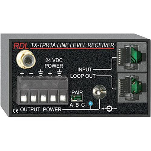 RDL TX-TPR1A  Active Single-Pair Receiver Format A