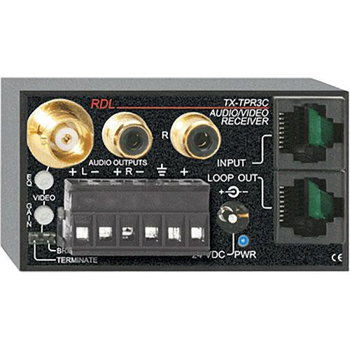 RDL TX-TPR3C Active Three-Pair Receiver - Twisted Pair Format-C