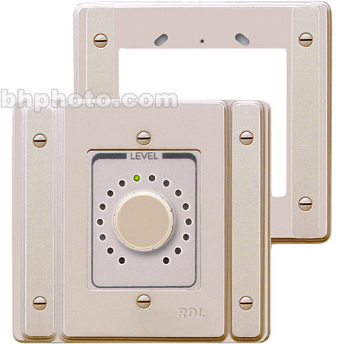 RDL US-A1N Single-Unit-To-Double-Box Wall Adapter (Neutral)