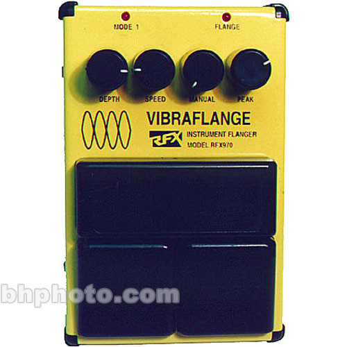 RFX Vibraflange Flanger Pedal