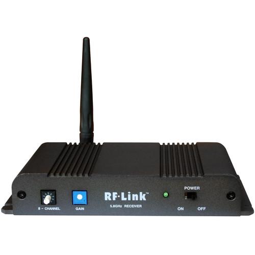 RF-Link AVS-5808-RX Wireless 8-Channel Indoor Audio/Video Receiver