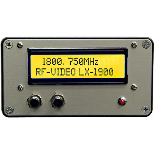 RF-Video LX-1900  1700-1900 MHz Video and Audio Transmitter