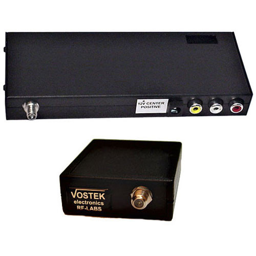RF-Video MXS-2500/ST Compact 8-Channel 2.4 GHz Video & Audio Transmitter - (Stereo)