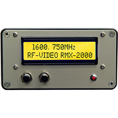 RF-Video RMX-2000 1600-2000 MHz  Receiver with Digital Display