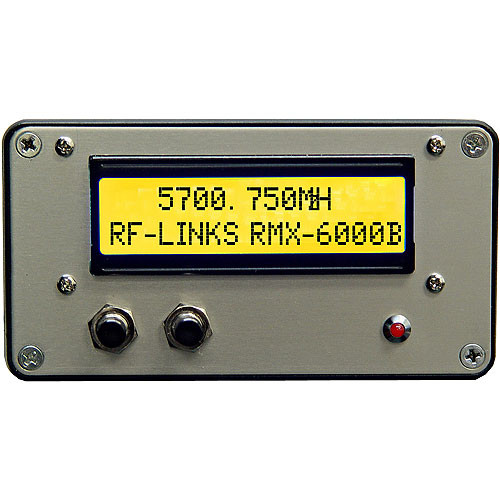 RF-Video RMX-6000B  5.8 GHz Video & Audio Receiver with Digital Display
