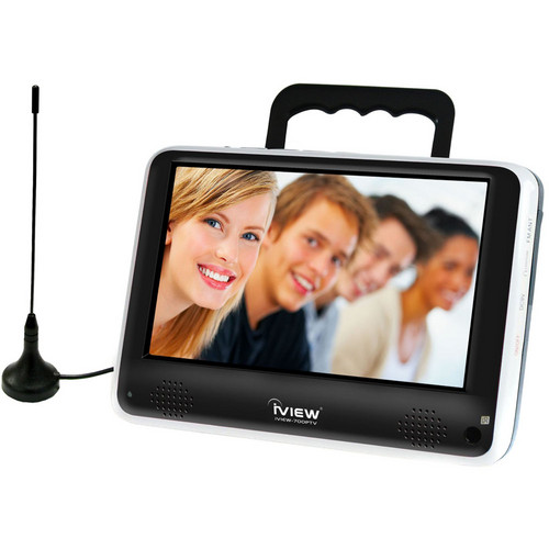 "RJ Technology Inc. 7"" Portable Digital TV (Built-In Handle/Stand)"