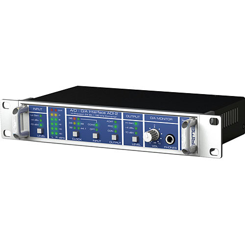 RME ADI-2 - 2-Channel, High Performance A/D and D/A 24-bit/192kHz Converter