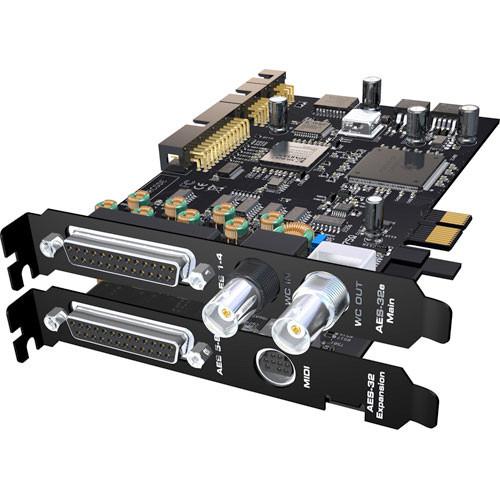 RME HDSPe AES-32 - AES/EBU PCIe Express Card