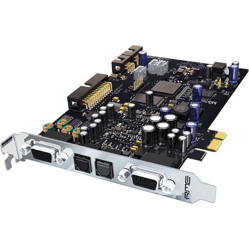 RME HDSPe AIO - PCIe Digital Audio Card