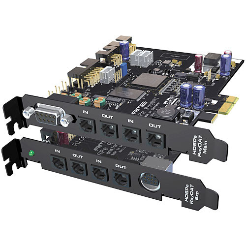 RME HDSPe RayDAT - 36 Channel Digital Audio & MIDI PCI Express Card System