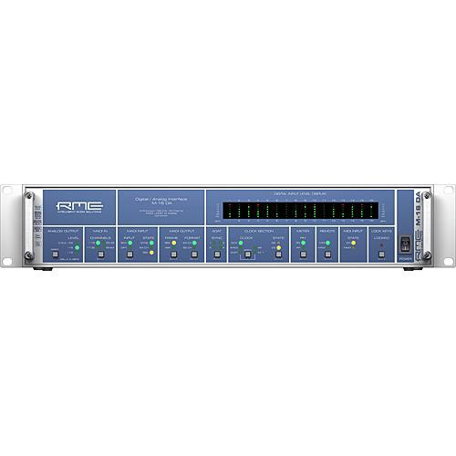 RME M-16 DA - 16-Channel High-End MADI/ADAT to Analog Converter