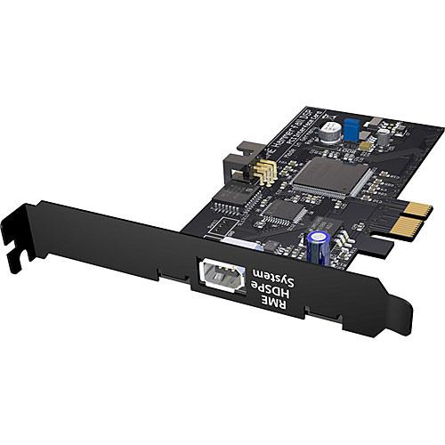 RME HDSPe PCI Card - PCIe Card for HDSP System