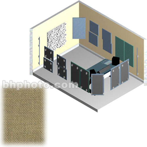 RPG Diffusor Systems AcousticTool Level 2 Acoustic Room Correction Package (Dune Beige )