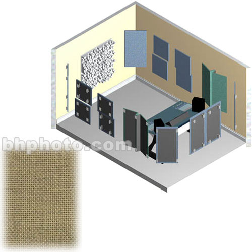RPG Diffusor Systems AcousticTool Level 3 Acoustic Room Correction Package (Dune Beige )