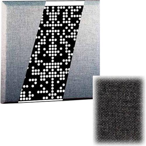 RPG Diffusor Systems Flatffusor - Diffusion and Absorbtion Panel (Medium Grey) - 2 Pieces