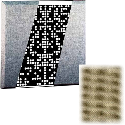 RPG Diffusor Systems Flatffusor - Diffusion and Absorbtion Panel (Dune Beige) - 2 Pieces