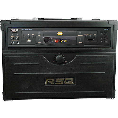 RSQ Audio Echo 1100 Portable Karaoke System w/ KM-1100 Player
