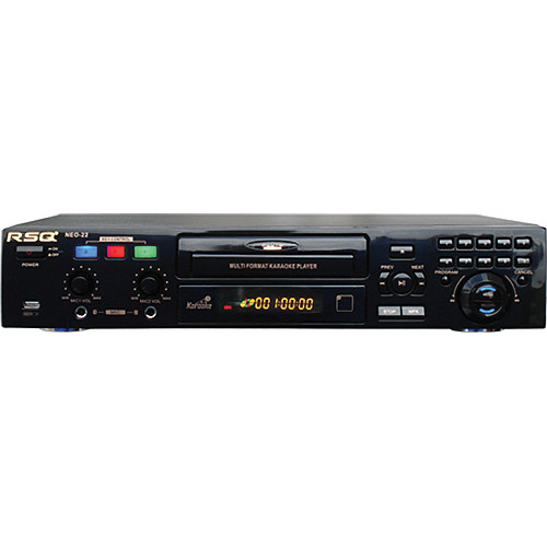 RSQ Audio NEO-22 Multi-Format Karaoke Player with Recording