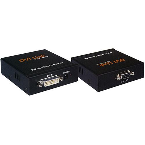RTcom USA DVi-VGA D/A Video Converter - Female 24p DVI to Female 15p VGA