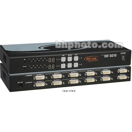 RTcom USA DD-D210 DVI Distribution Amplifier