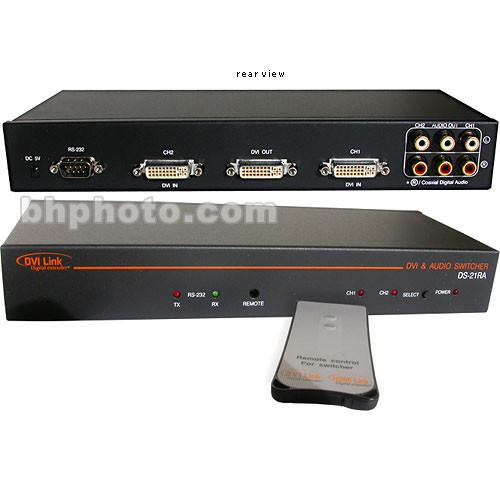 RTcom USA DS-21AR DVI with Audio Switcher