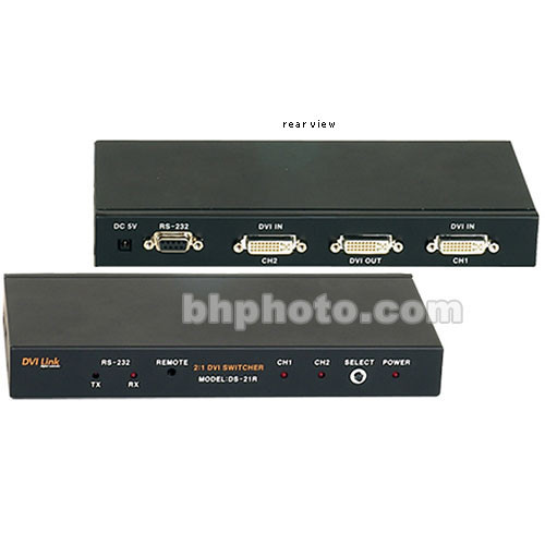 RTcom USA DS-21R 2:1 DVI Switcher