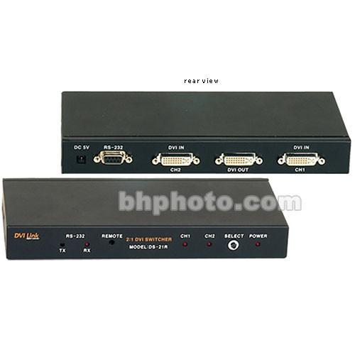 RTcom USA DS-21R 2:1 DVI Switcher
