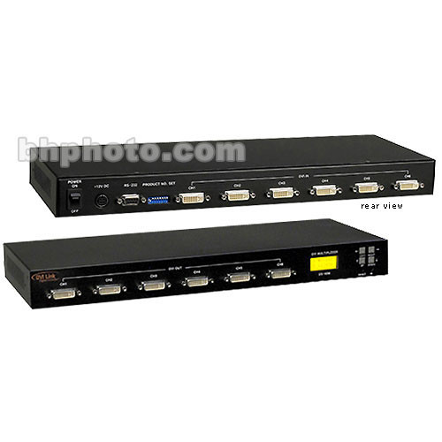 RTcom USA 6 x 6 DVI Matrix Router