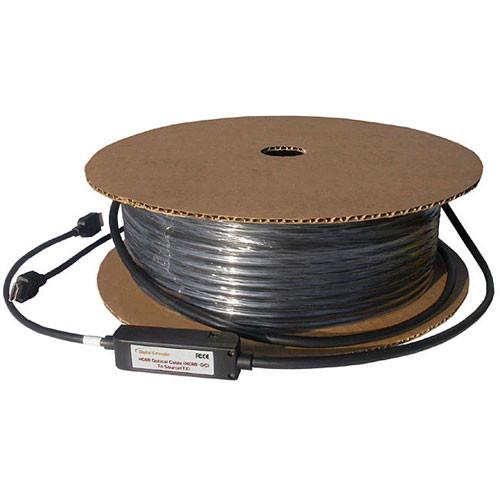 RTcom USA HDOC Series HDMI Male to HDMI Male Fiber Optic Cable - 98.5'