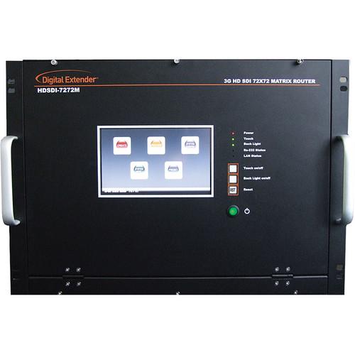 RTcom USA 3G HDSDI Matrix Router (72 x 72)