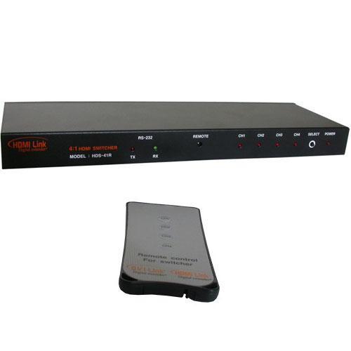 RTcom USA HDS-41RV13 HDMI Switcher