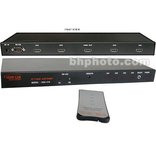 RTcom USA HDS-41R HDMI Switcher