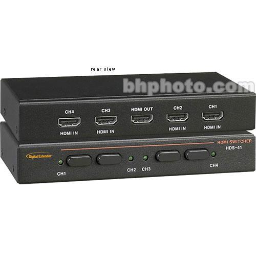 RTcom USA HDS-41 HDMI Switcher